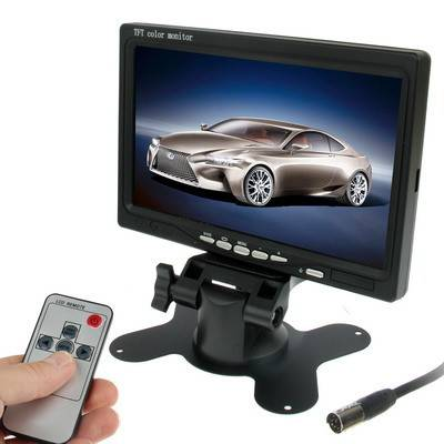 Car Monitor with Surveillance Cameras | R639