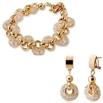 Zircon Crystal Jewellery Set   R450