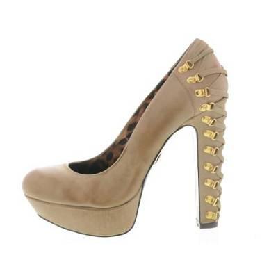 Betsey Johnson Designer Leather Platforms | R599