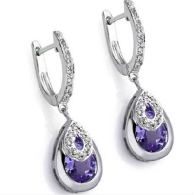 Amethyst Earrings | R550 - Unbeatable Price!