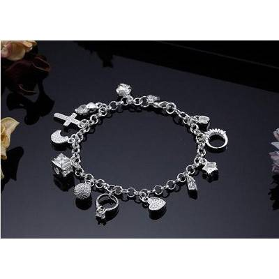 Silver Charm Bracelet | R130