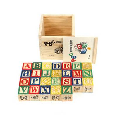 Wooden ABC Blocks | R89