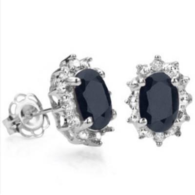 Sapphire Earrings - 2 Designs | R450