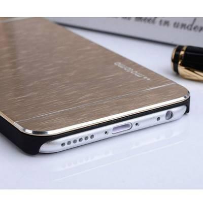 Apple Iphone 6 Aluminium Brushed Metal Hard Case   R135