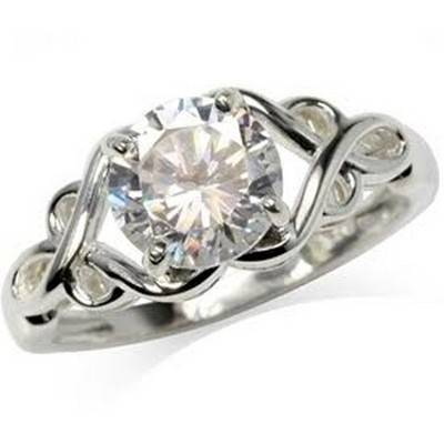2.04ct Solitaire Genuine 925 Sterling Silver Ring | R200