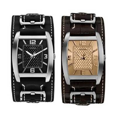 Guess Men's Leather Watch | 2 colours to choose from | R755