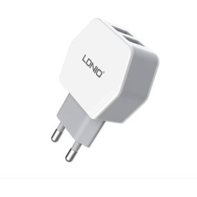 LDNIO Dual USB 2.1A Wall charger / Universal Adapter with USB Slot | R155