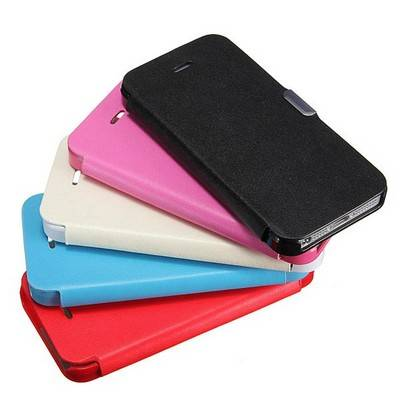 Apple Iphone 5 / 5G / 5S Slim Magnetic Black Wallet Cover | R99