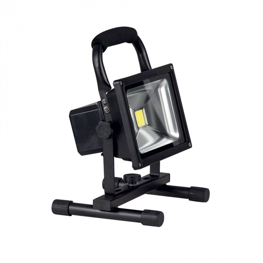 Brightstar Pack of 2 White LED Rechargeable Portable Floodlights