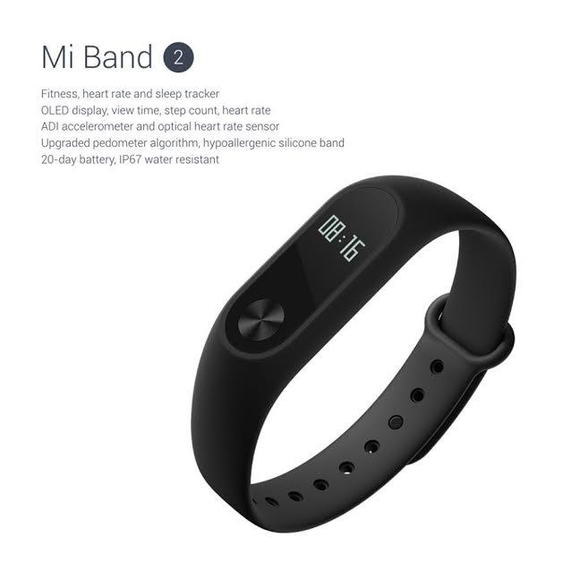 Xiaomi Mi Band 2 Activity Tracker