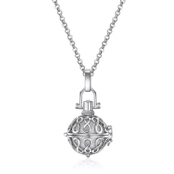 Mestige Infinity OR Cherish Sphere Necklace Made with Swarovski Elements
