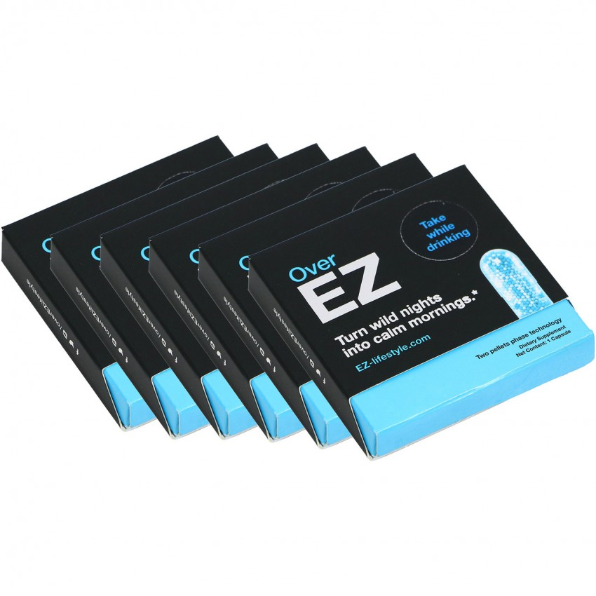 Over-Ez Anti-Hangover Pills (Pack of 12)