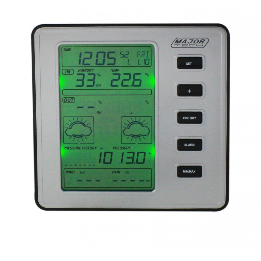 Major Tech Professional Weather Station