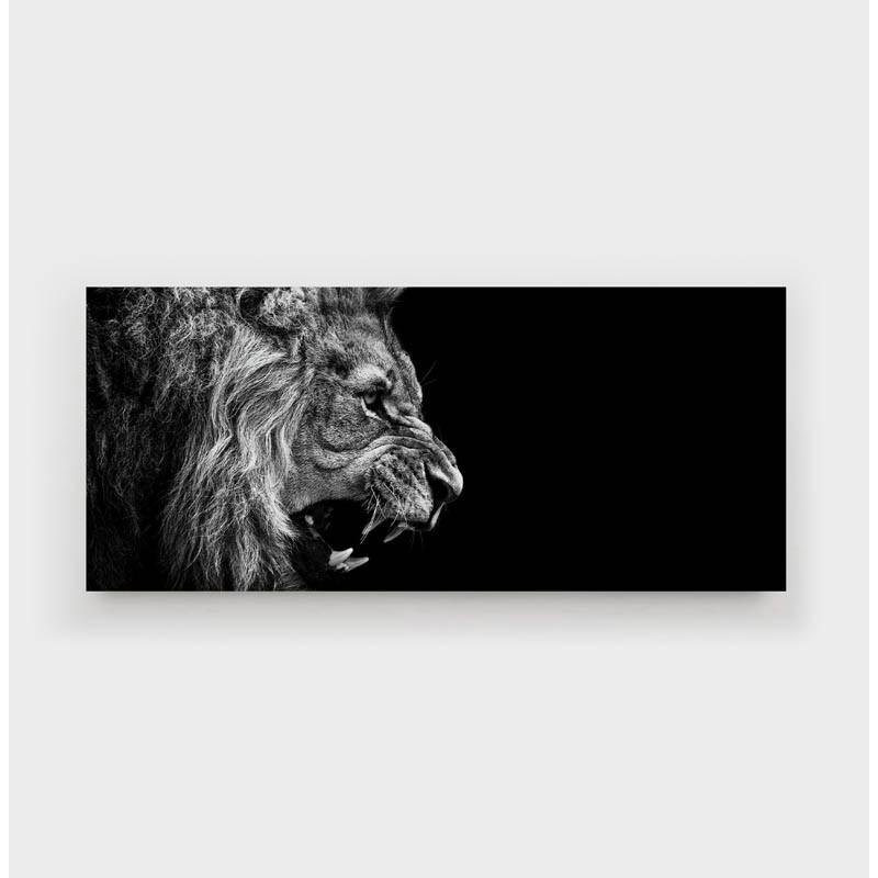 WallArt Lion Roars Canvas