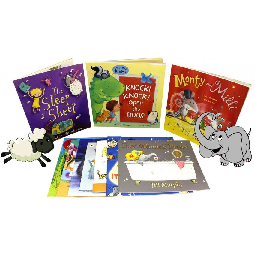 Bedtime Sleepy Stories 10 Book Collection