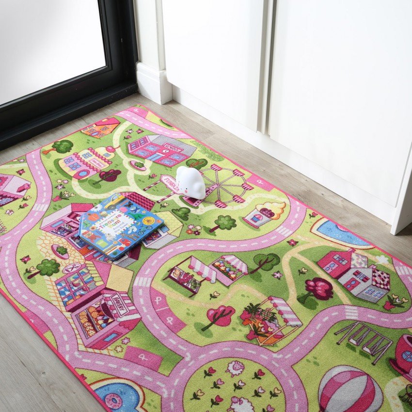 Play Time Rugs Premium Belgian Creative Kiddies Play Carpets (More Styles Available)