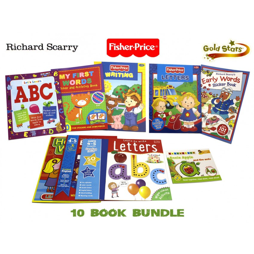Learning Letters Children's Writing 10 Book Pack