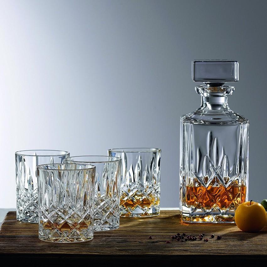RCR Crystal Aurea Opera 750ml Whiskey Decanter 7 Piece Set