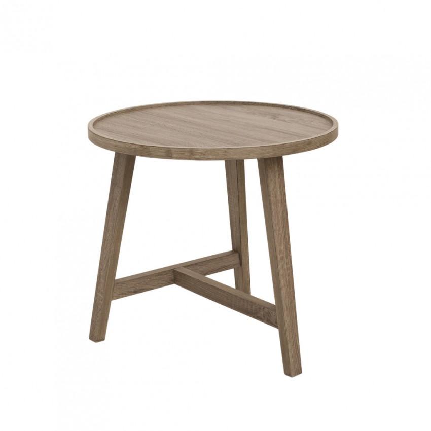 Eleven Past Oak Side Table (53cm x 57cm)