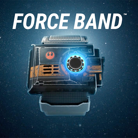 Star Wars Sphero Force Band App Enabled BB-8 Droid Gesture Controller