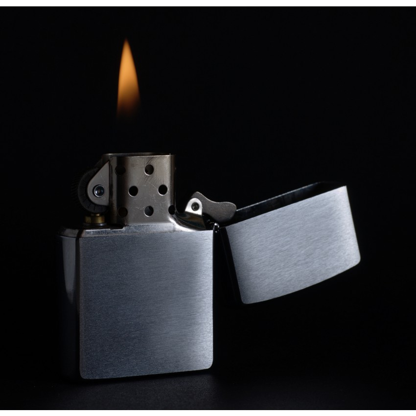Zippo Lighter with Accessories