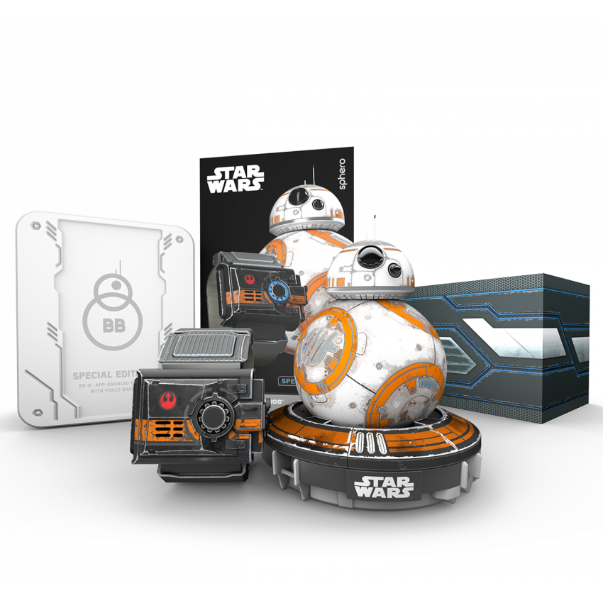Star Wars Special Edition Battle-Worn App Controlled BB-8 Droid with Force Band