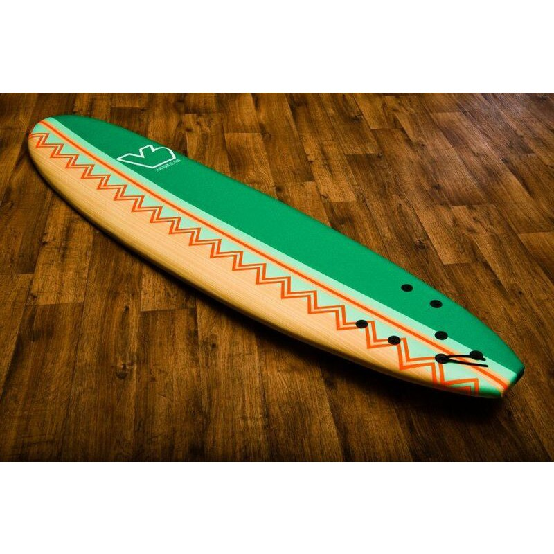 Vanhunks Boarding 6 or 8ft Soft Surfboards