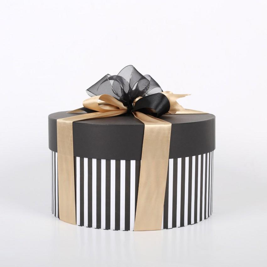 Sally Williams Nougat Treats Stripe Gift Box