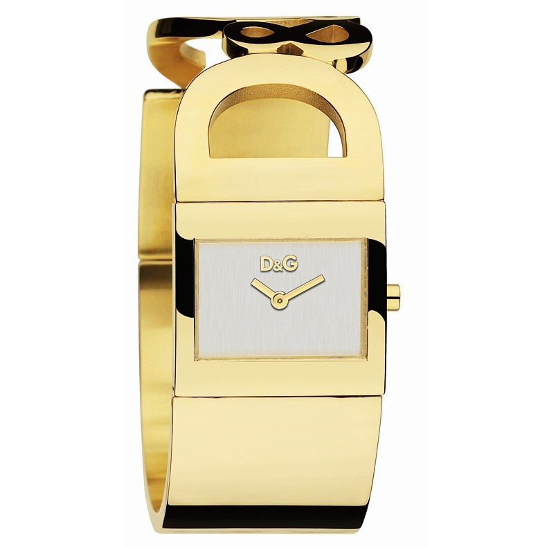 Dolce and Gabbana Ladies Gold Analogue Watches