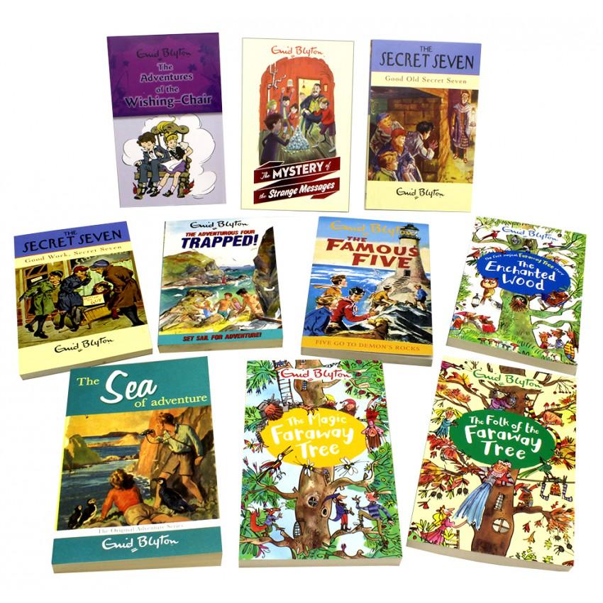 Enid Blyton Reader Classics 10 Book Collection