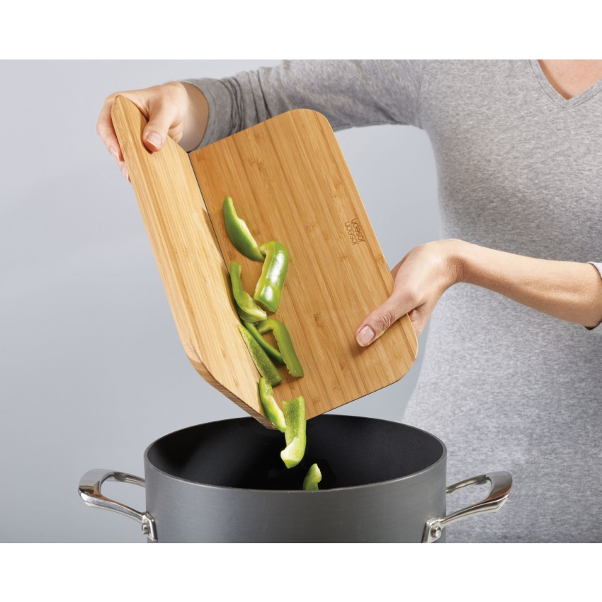 Joseph Joseph Chop2Pot™ Folding Bamboo Chopping Board