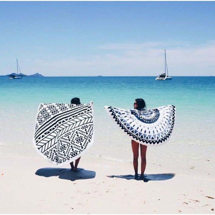 Linen House 100% Cotton Luxurious Round Towel
