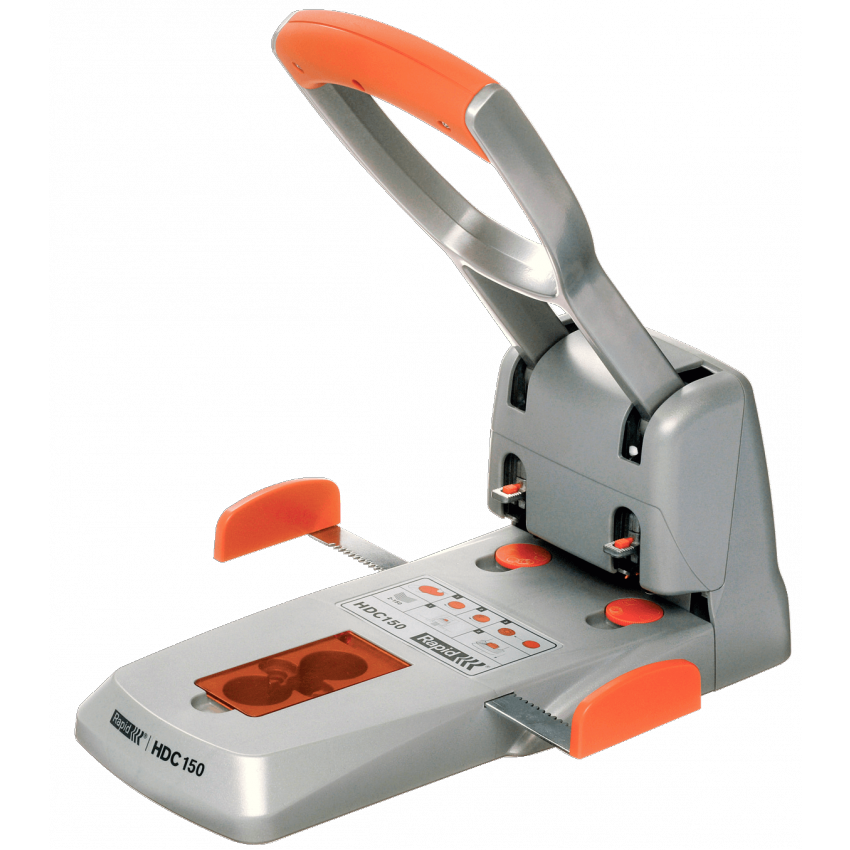 Rapid Supreme Heavy Duty Hole Punch- 150 Sheets