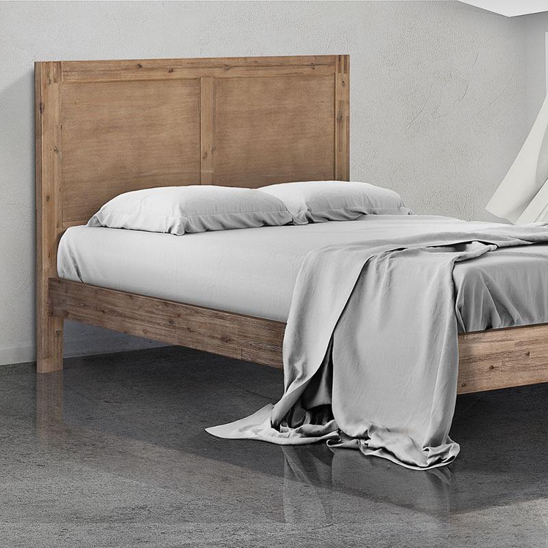 Vancouver Acacia Wood Bed Base