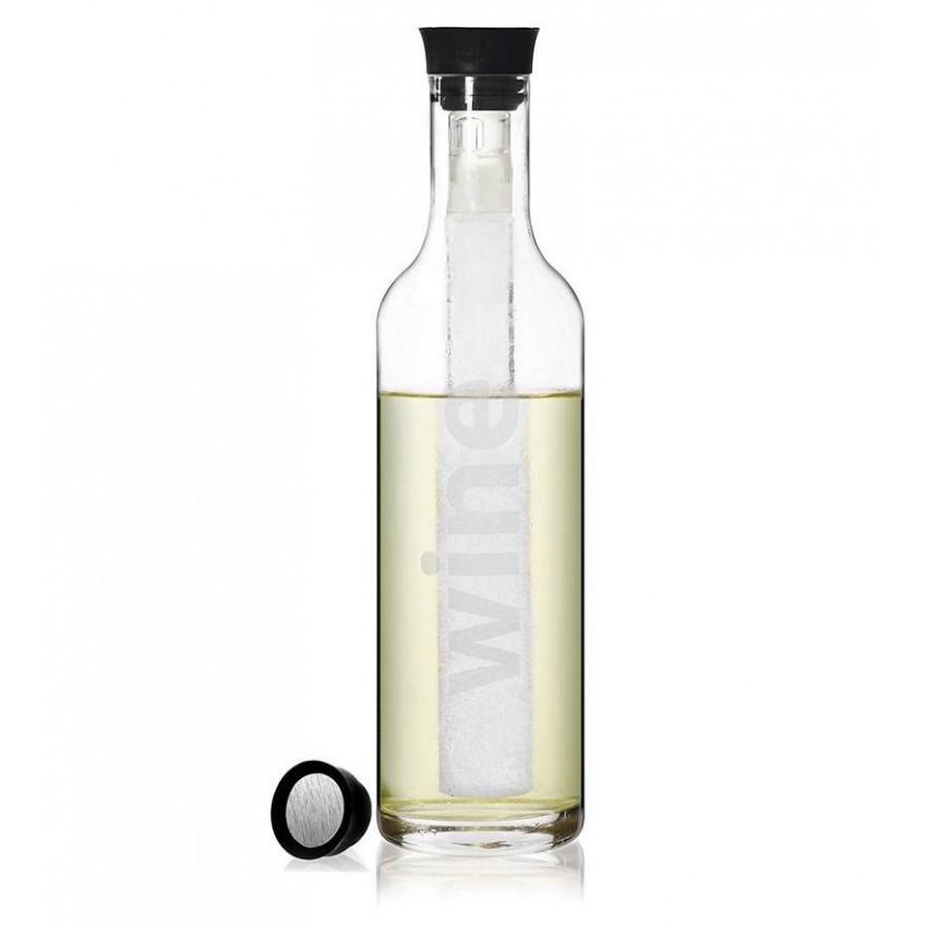 Viva Scandinavia 850ml Drip-Free Wine Decanter with Perfect Chilller Stick