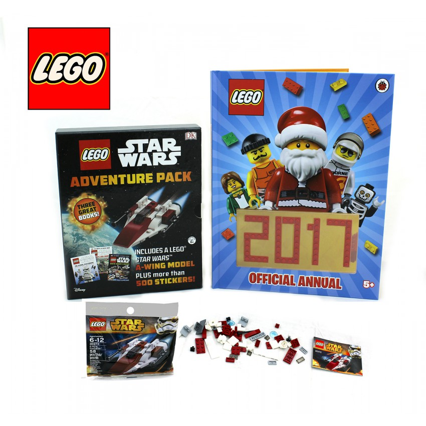 LEGO 2017 Annual & Star Wars Adventure Pack Books