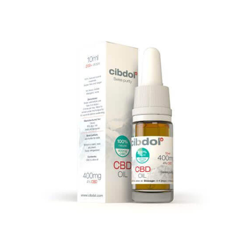 Cibdol CBD Hemp Oil 10ml (400mg)