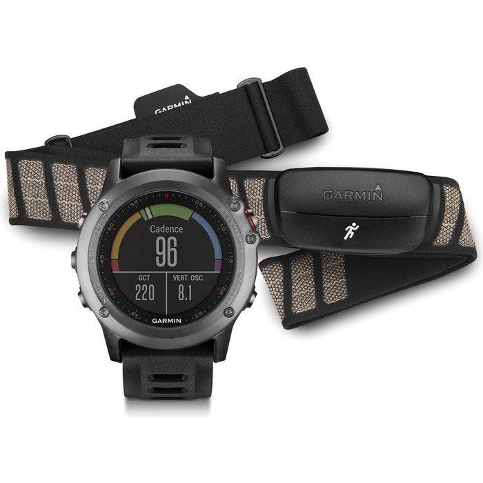 Garmin Fenix 3 Grey or Sapphire GPS Watch Performer Bundle (Limited Quantity)