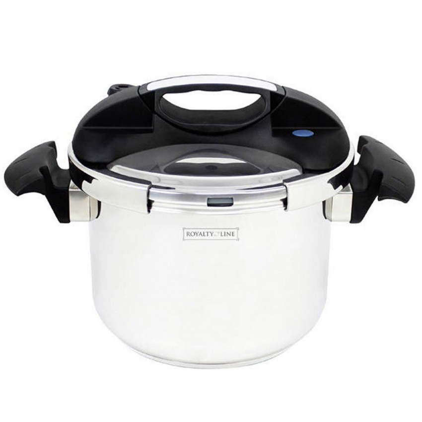 Royalty Line Heavy Duty Stainless Steel Pressure Cooker (More Sizes Available)
