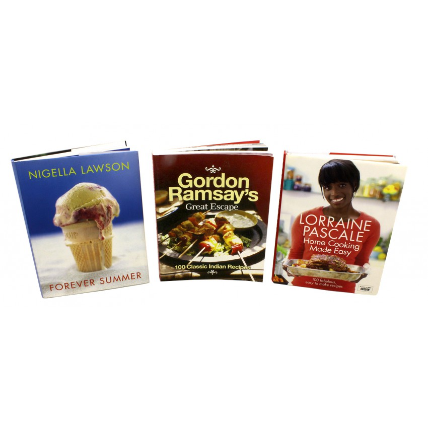 Lawson, Ramsay & Pascale 3 Hearty Home Cooking Cookbook Collection