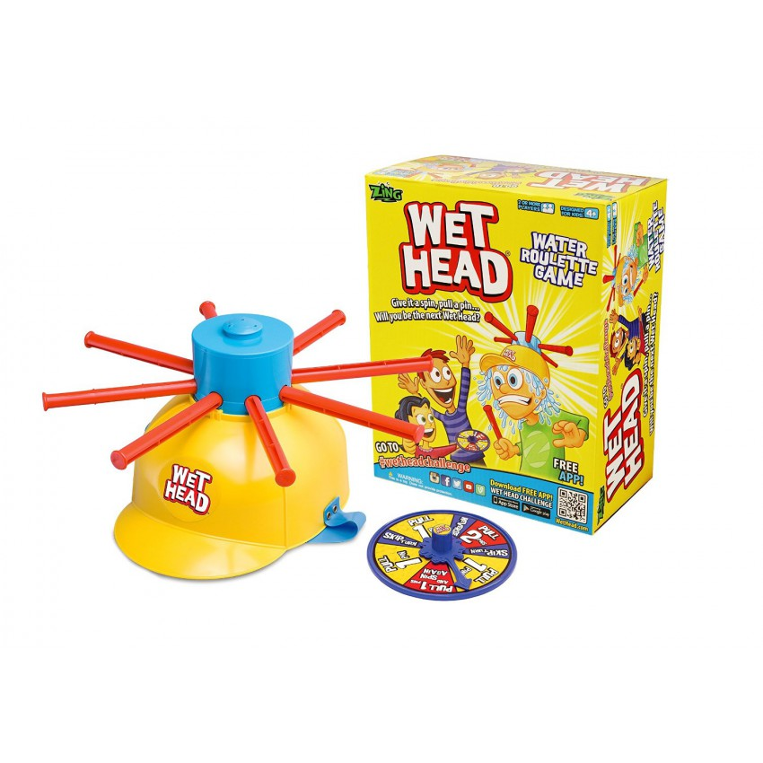 Wet Head Water Roulette Family Game