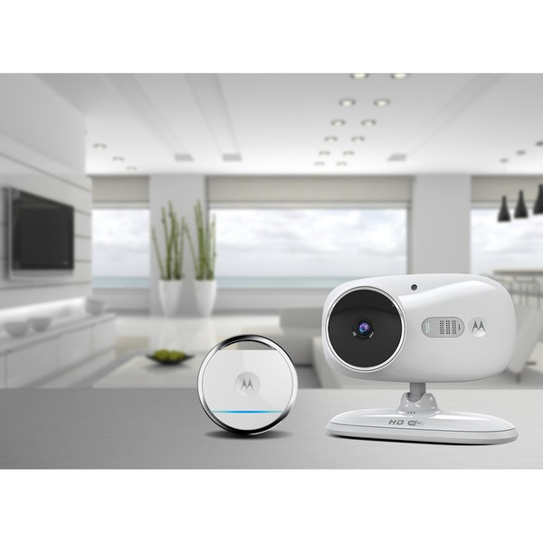 Motorola Wi-Fi Indoor Video Camera with Tracking Tag