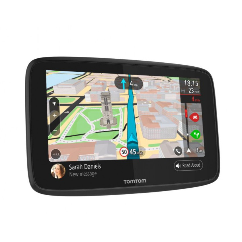 TomTom Go 620 GPS with Built-in WiFi, Siri & Google Now Compatibility