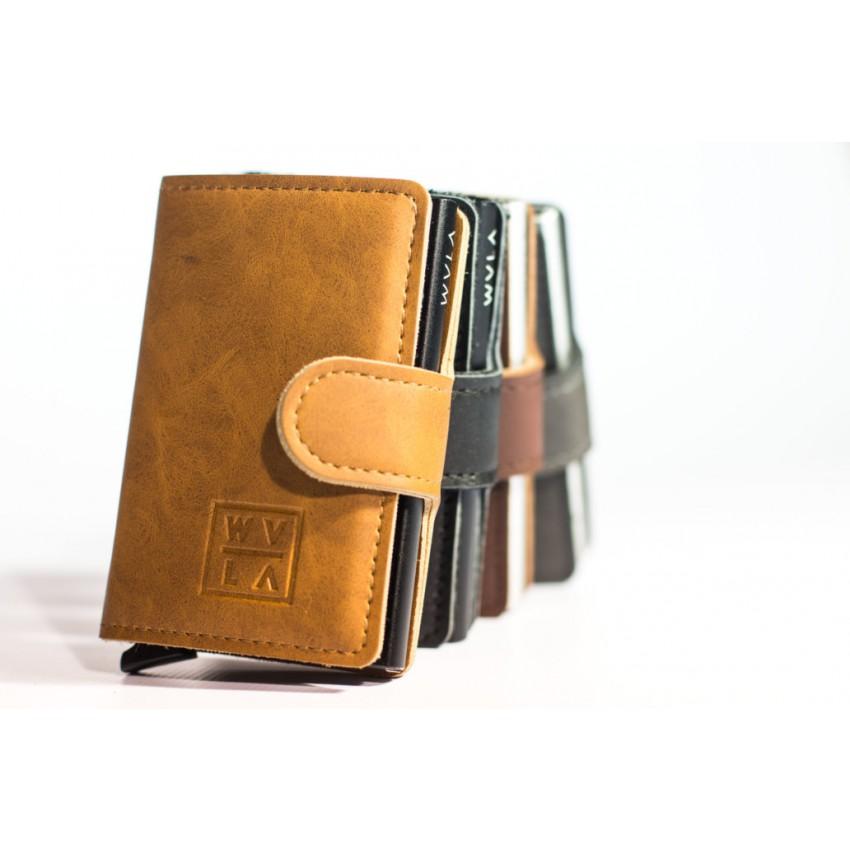 WVLA Minimalist Leather Wallet
