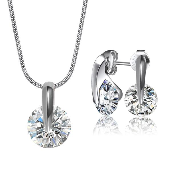 Mestige Crystal Zenith Set Made with Crystals from Swarovski