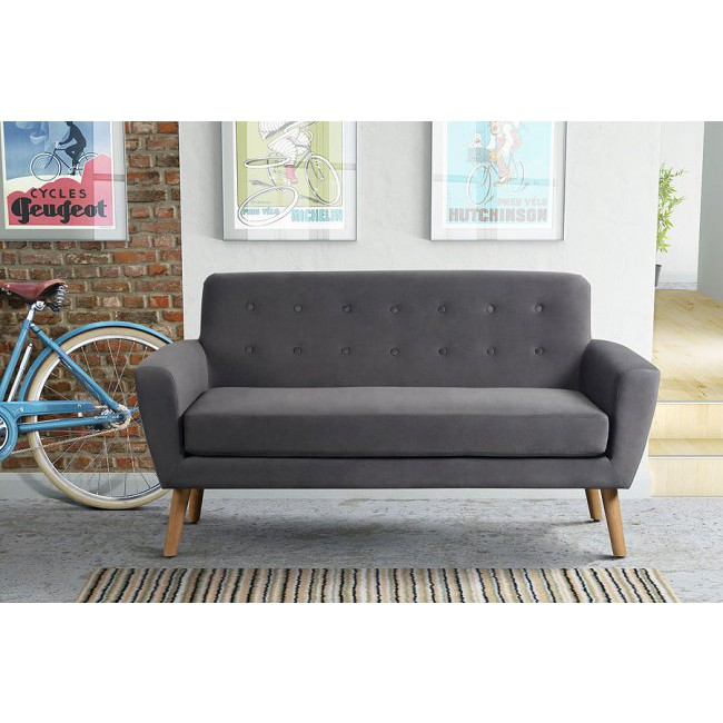 Lagom Sexton Sofa With Wooden Legs