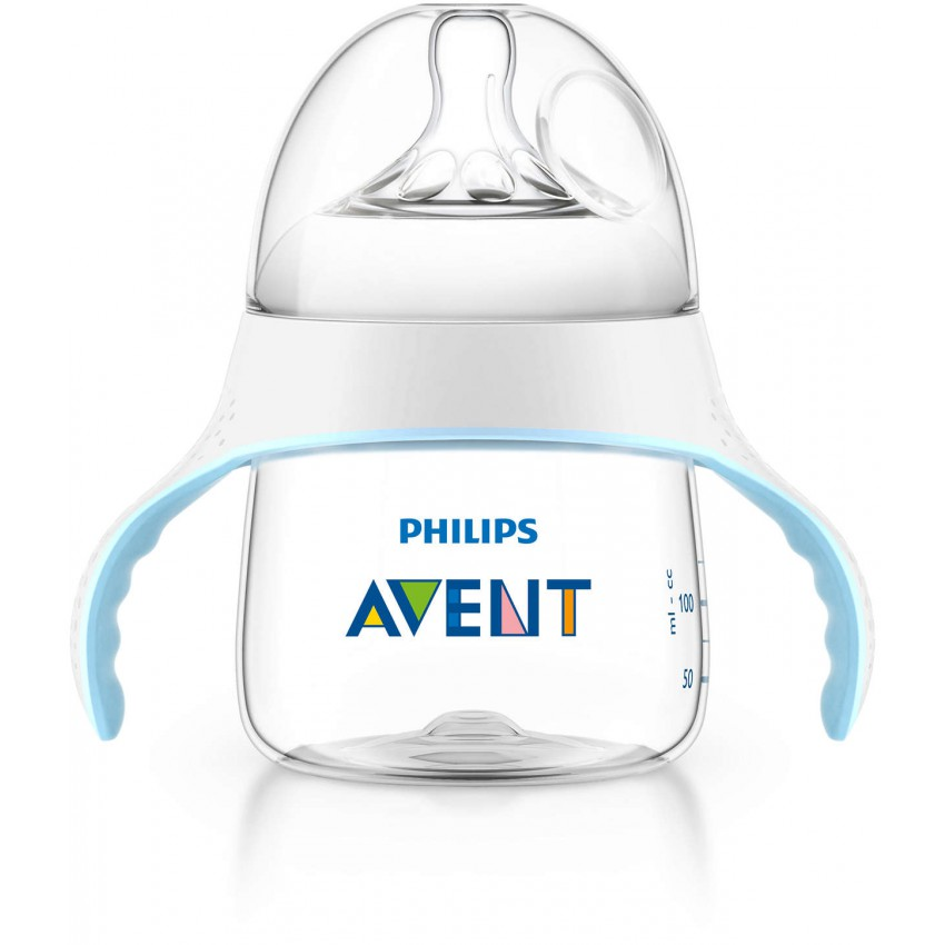 Philips Avent Set of 2 150ml Bottle to Cup Trainer Kit