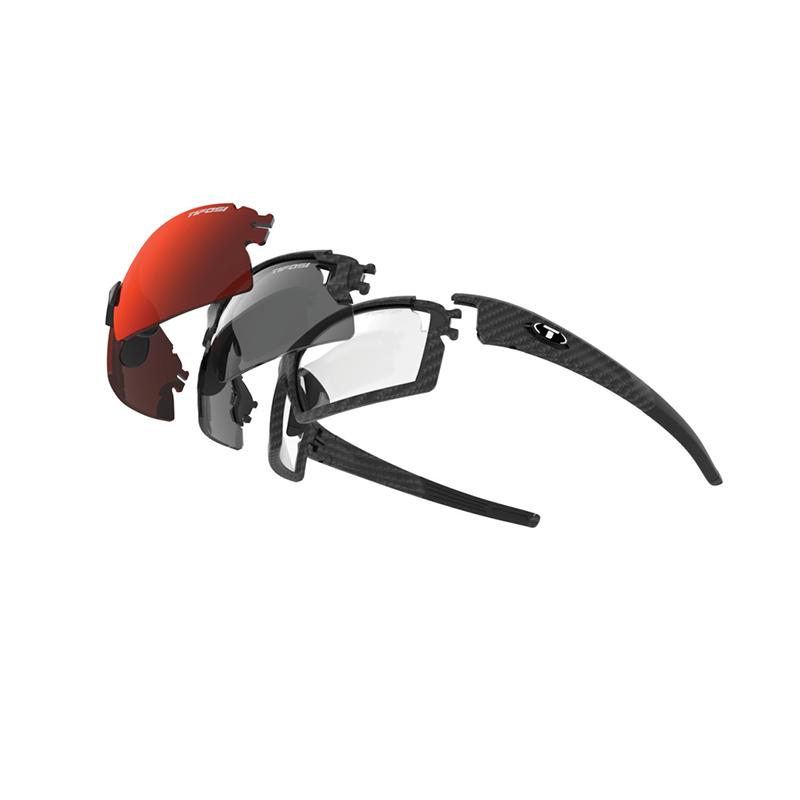 Tifosi 3 Frames + 6 Lenses Escalate SFH Sunglasses (Matte Carbon)