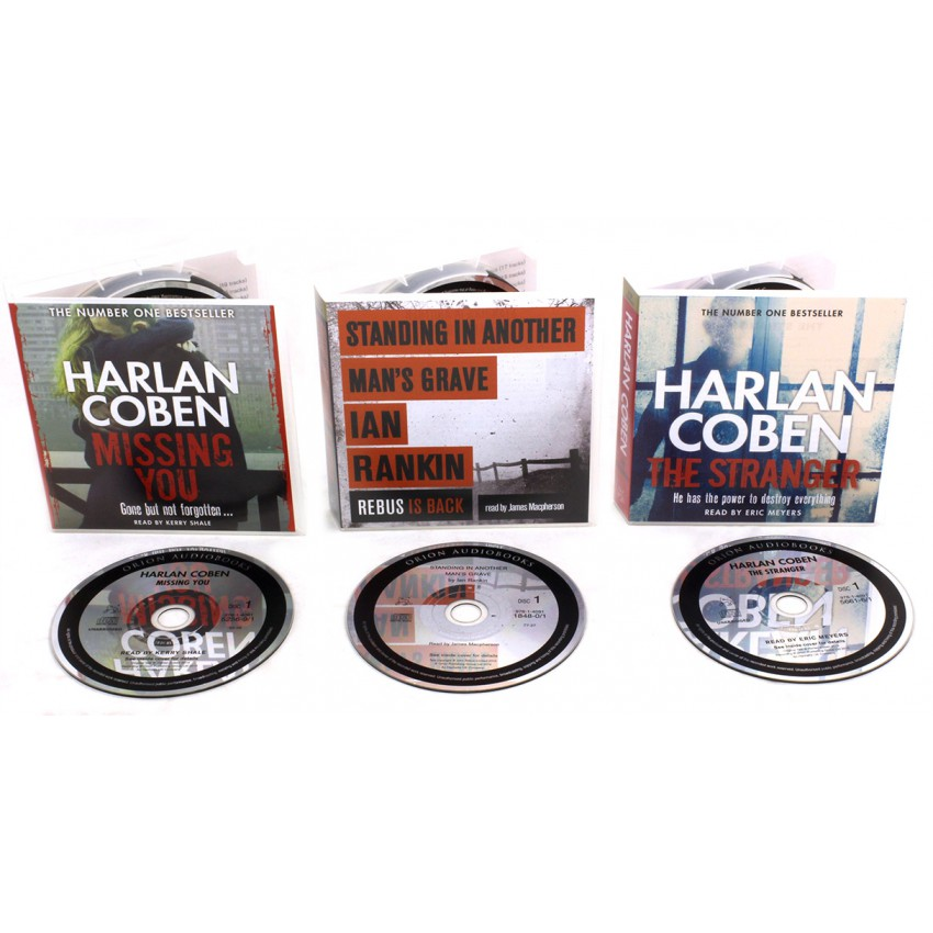 Thriller Collection 3 Suspense Audio Books Bundle