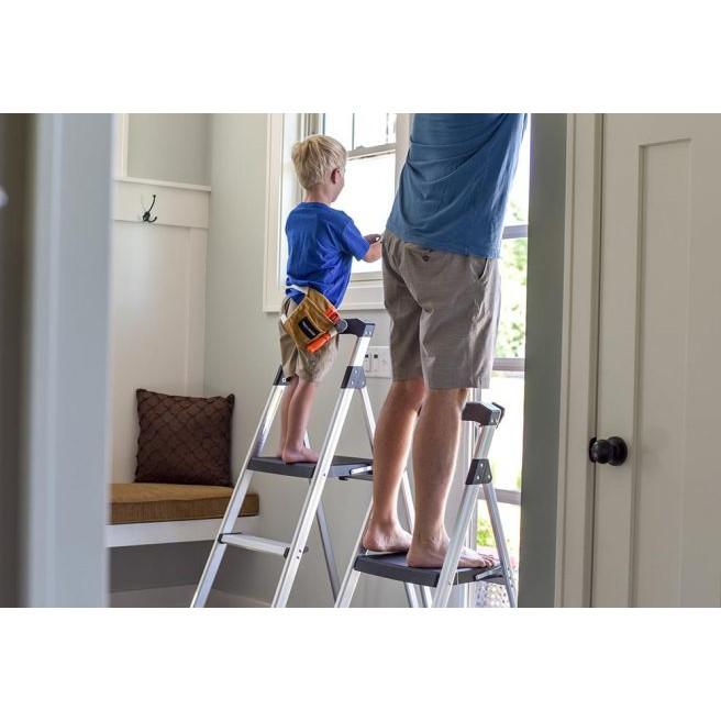 Caslad LAS Step Ladder With Versi Tray